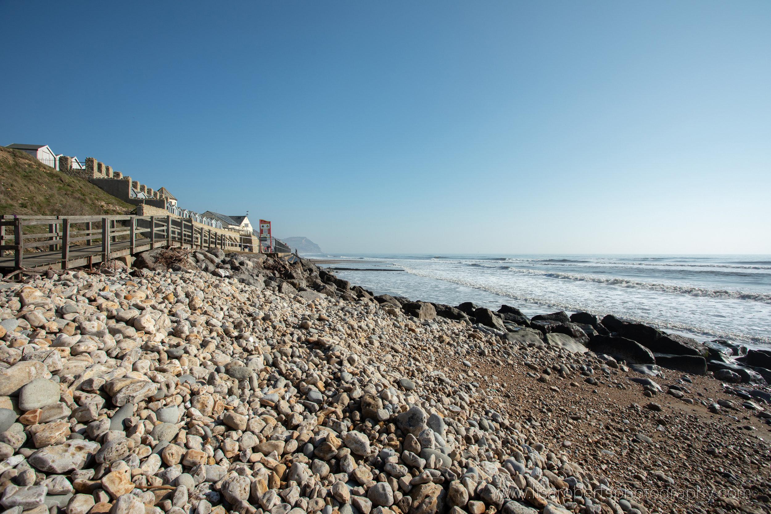 Charmouth  Beach, Dorset, England