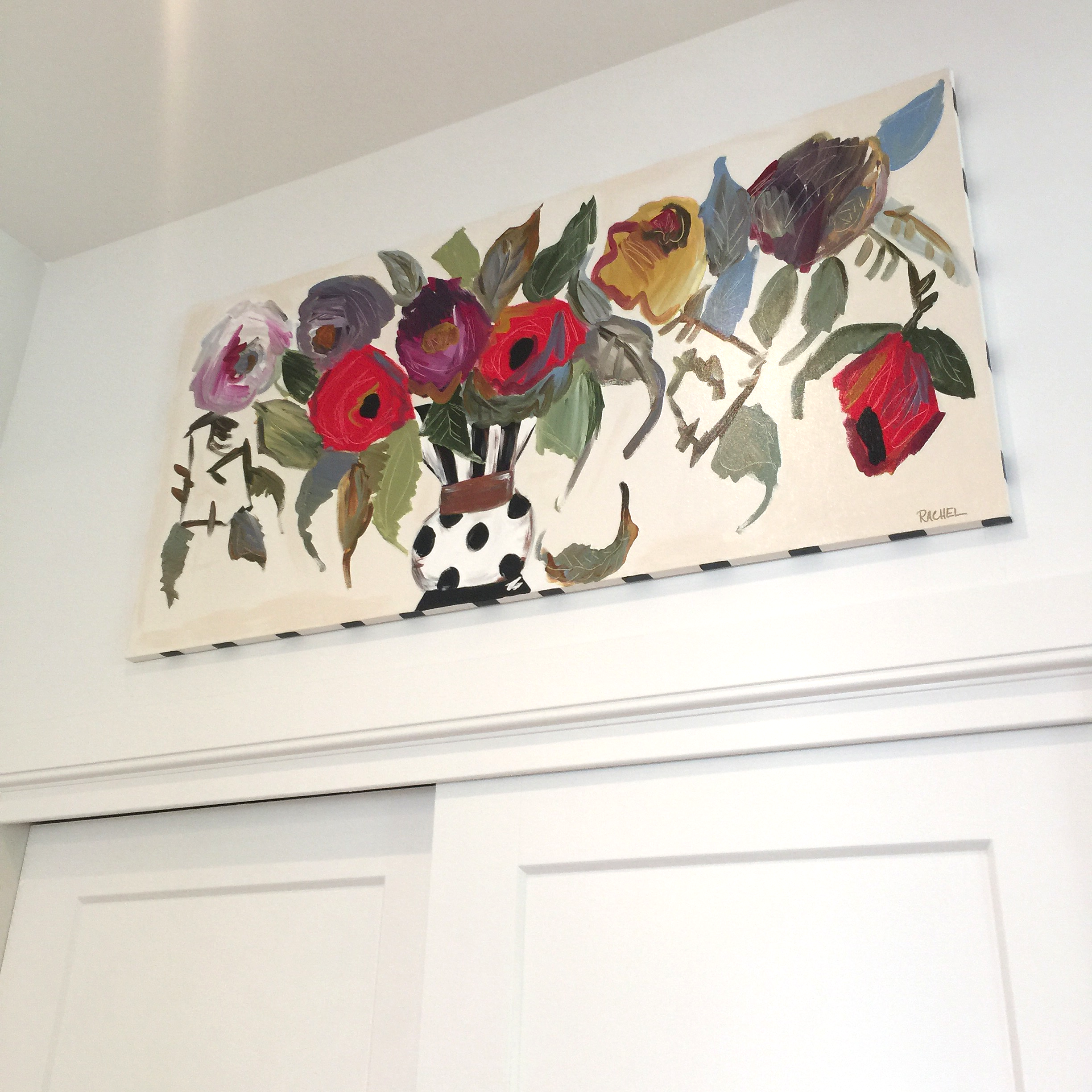 Here is another original painting of mine on display at Homearama!