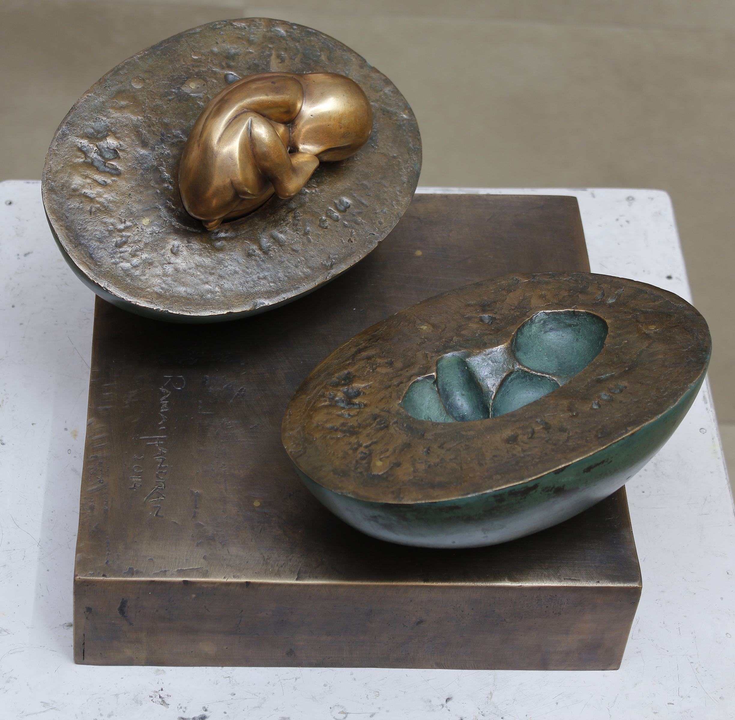 Watermelon | Bronze sculpture | Variable