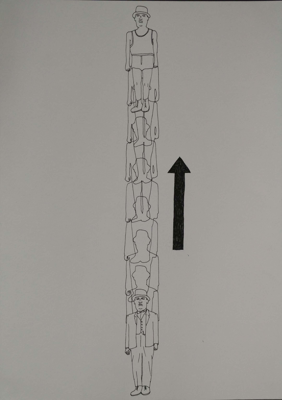 "Paul Barritt   Ten Leisure Machines    Drawing on paper   11.75"" x 8.25""   2012"