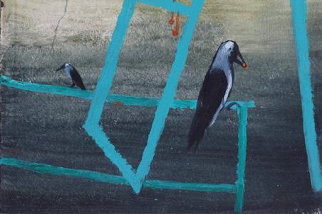 ANJOLIE ELA MENON |  Recent Paintings  7June - 27 June, 2013
