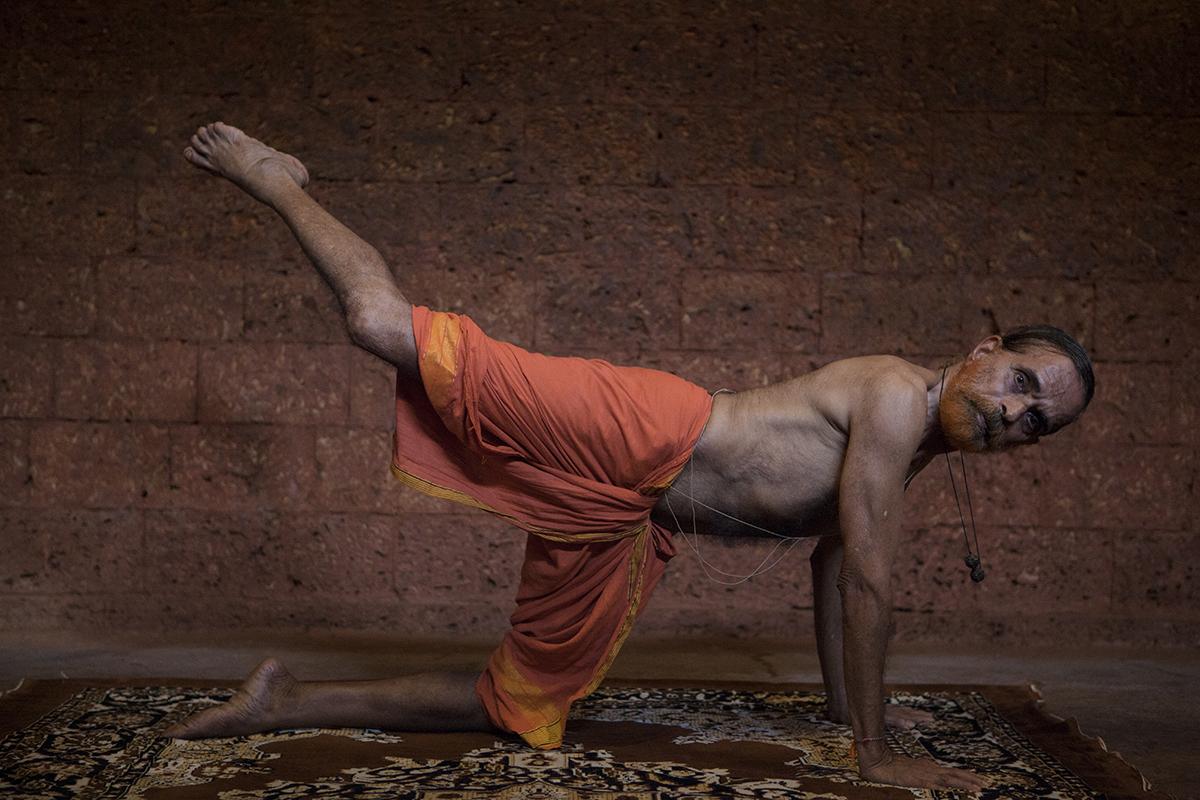 "Yogacharya Padmanabhan  Hindustan Kalari Sangam, Calicut | Archival Pigment Ink on Hahnemühle FineArt Photo Rag Paper | 11"" x 16.5"" | 2014"