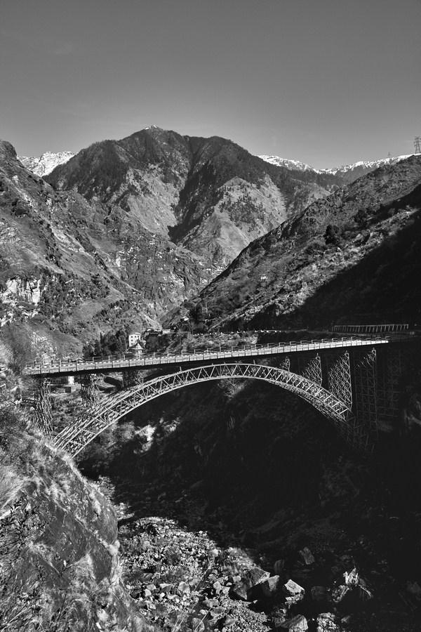 "Nichar,Kinnaur,Iron Bridge,Himachal Pradesh, India | Photograph | 12"" x 18"" | 2015"