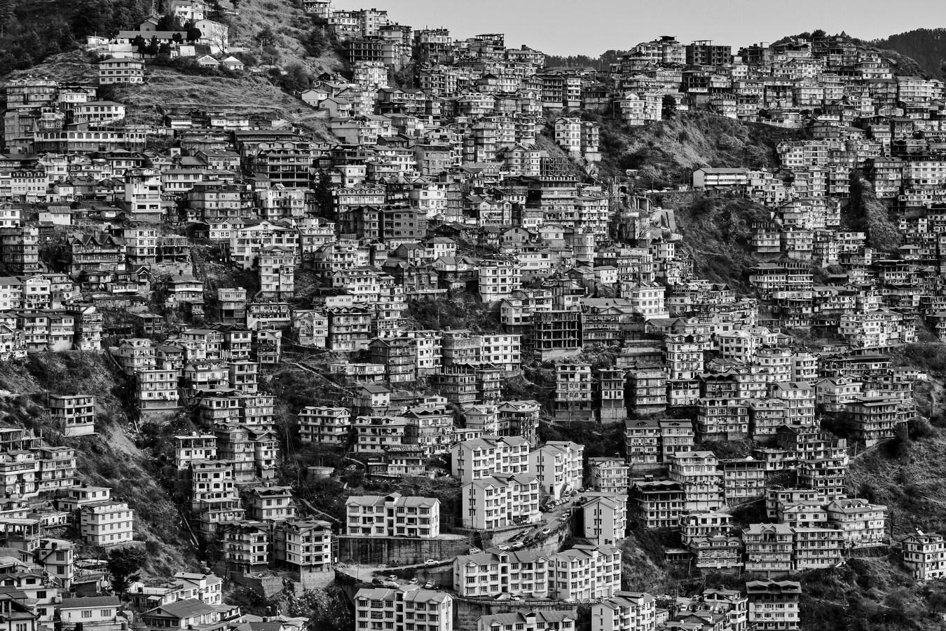 "Shimla, Himachal Pradesh, India | Photograph | 44"" x 64"" |2015"