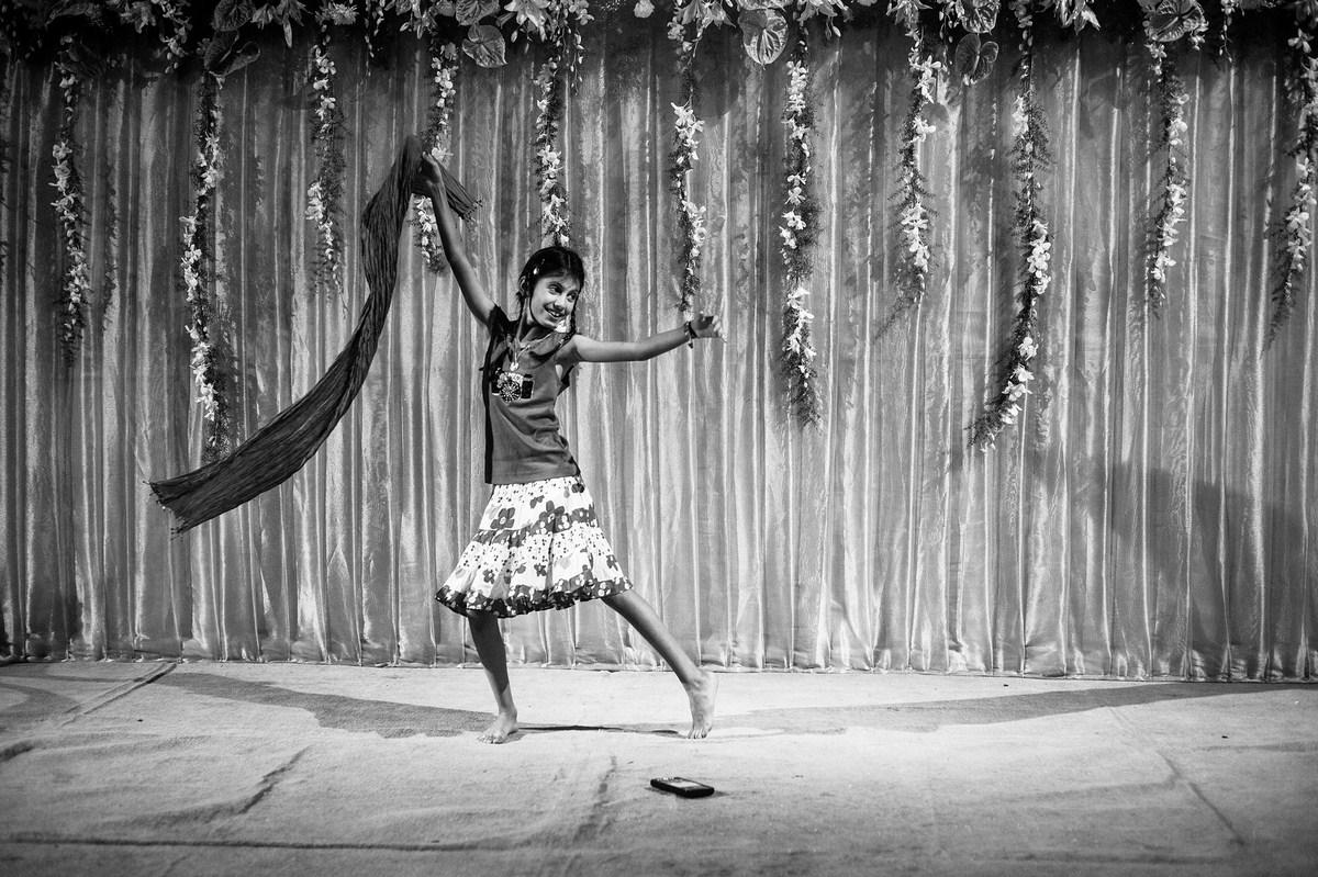 "Happy at a Navjote Mumbai 2015 | Archival pigment print | 41"" x 61"""