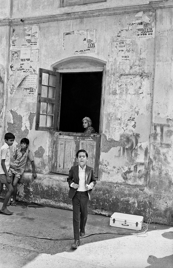 """The Perfect Murder shoot Bombay 1987 