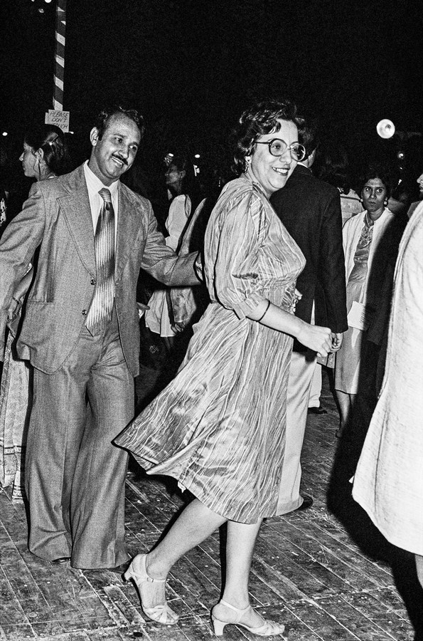 """Rocking and rolling at the New Year's Eve Ball Bombay 1985 