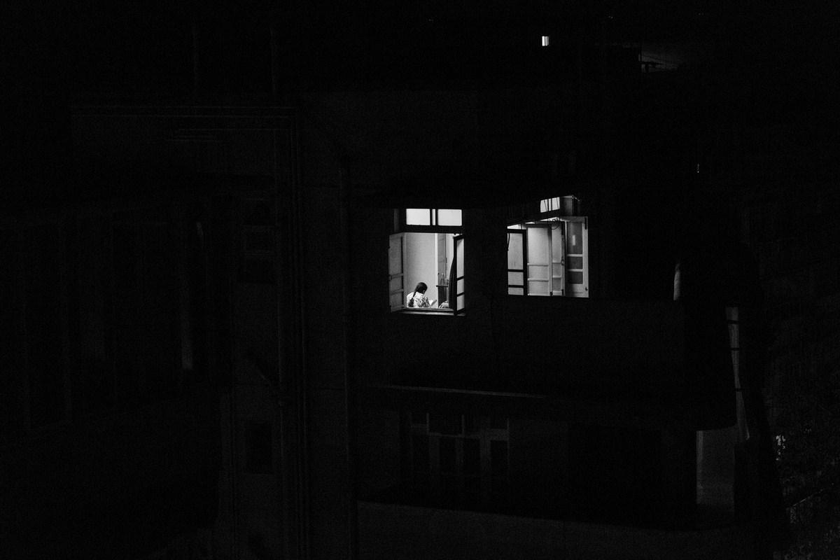 "Mumbai by night 2016 | Archival pigment print | 41"" x 61"""