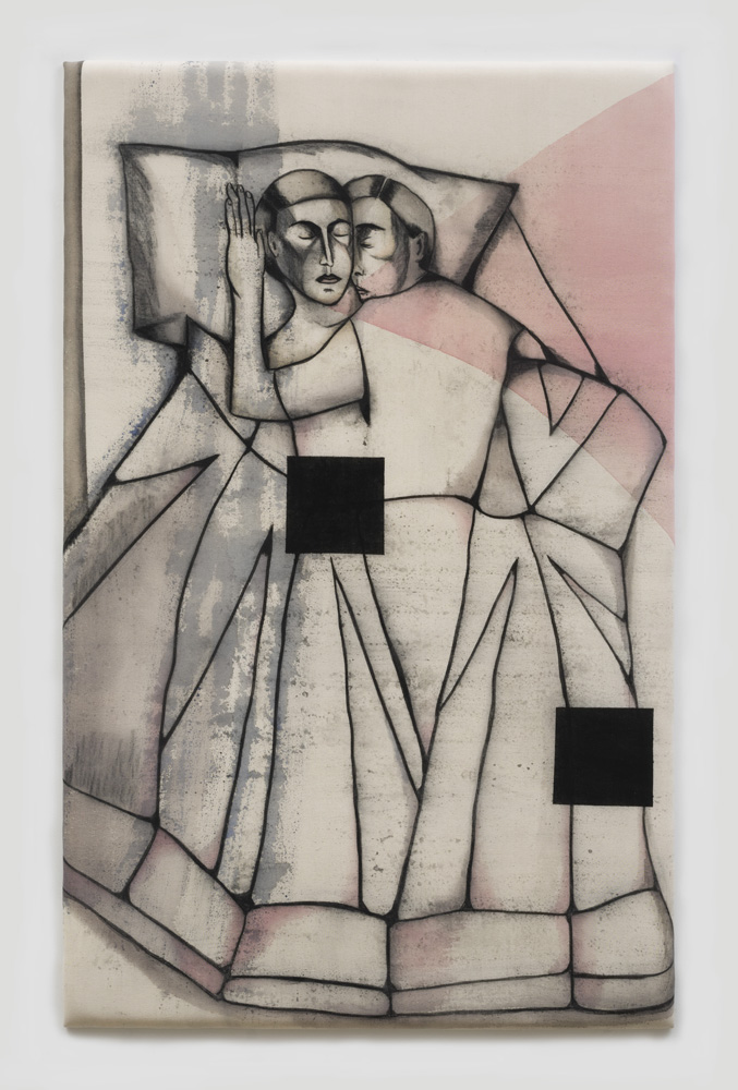 """Bedroom with two Squares 