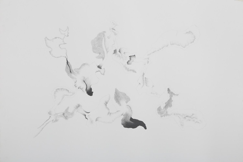 "Apnavi Makanji | Untitled | Graphite on arches paper | 22"" x 30"" | 2018"