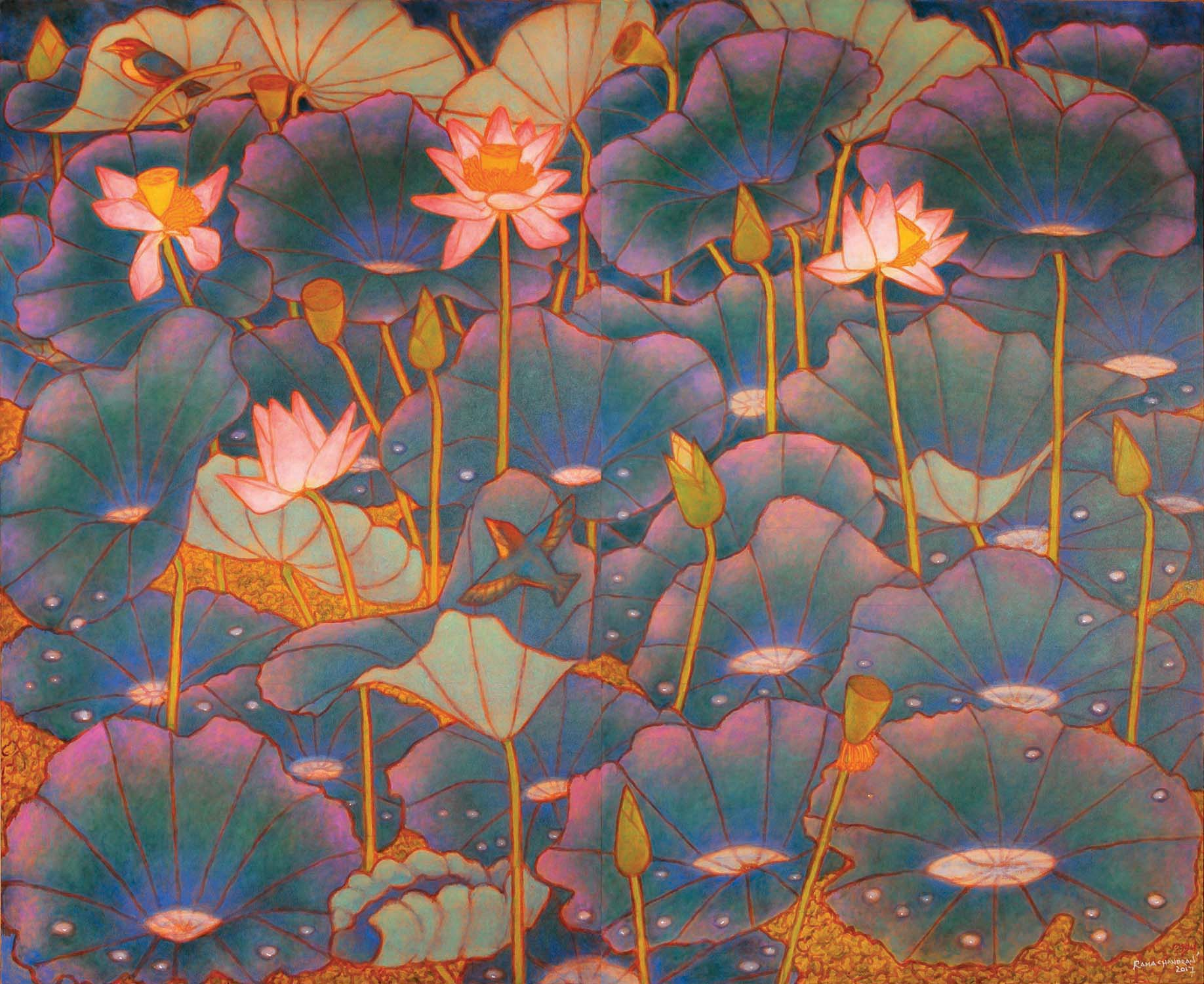 A RAMACHANDRAN | The Changing Moods of Lotus Pond and Insignificant Incarnations series  13 November - 2 December 2018