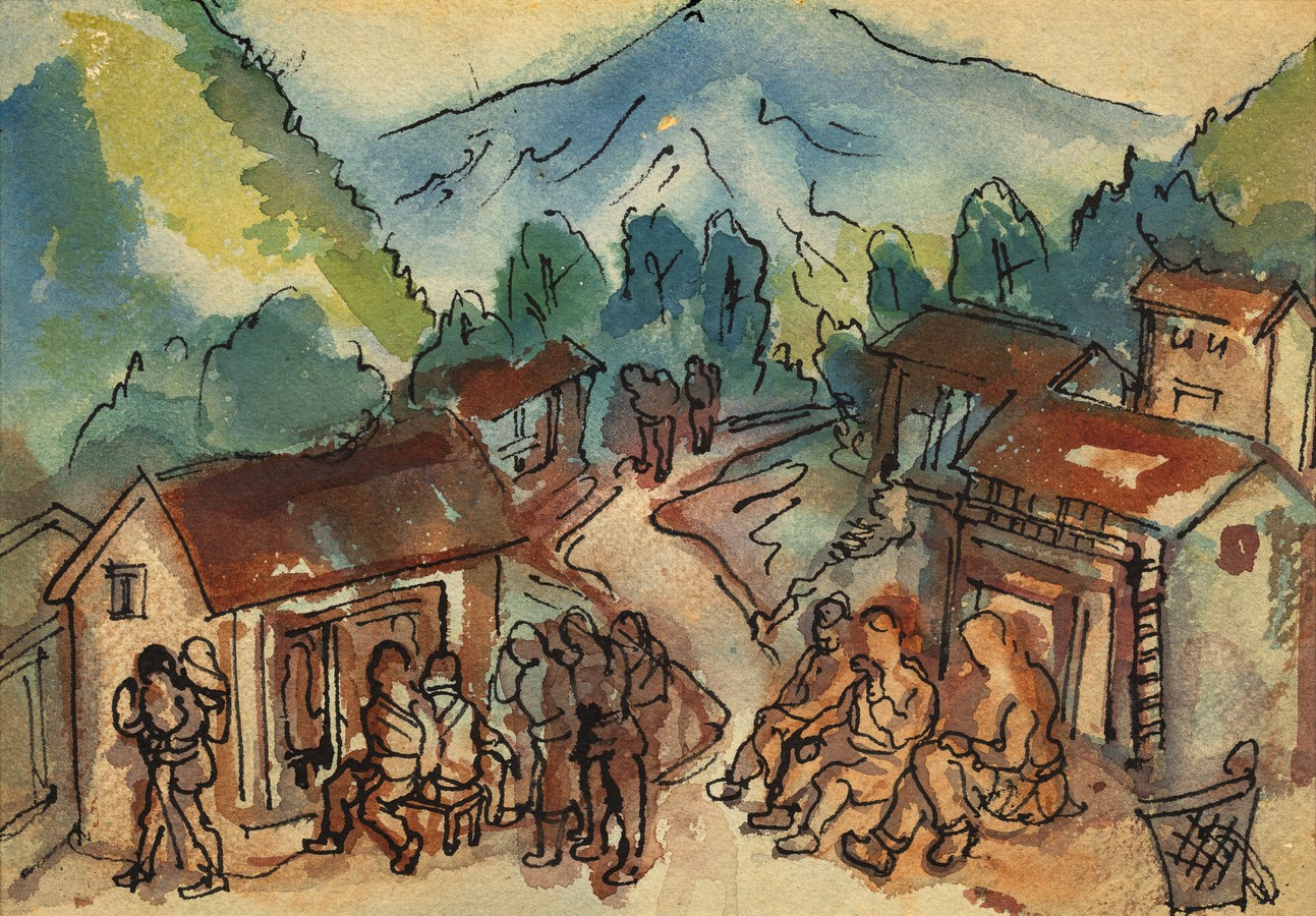 """Man on the Street, Nepal 