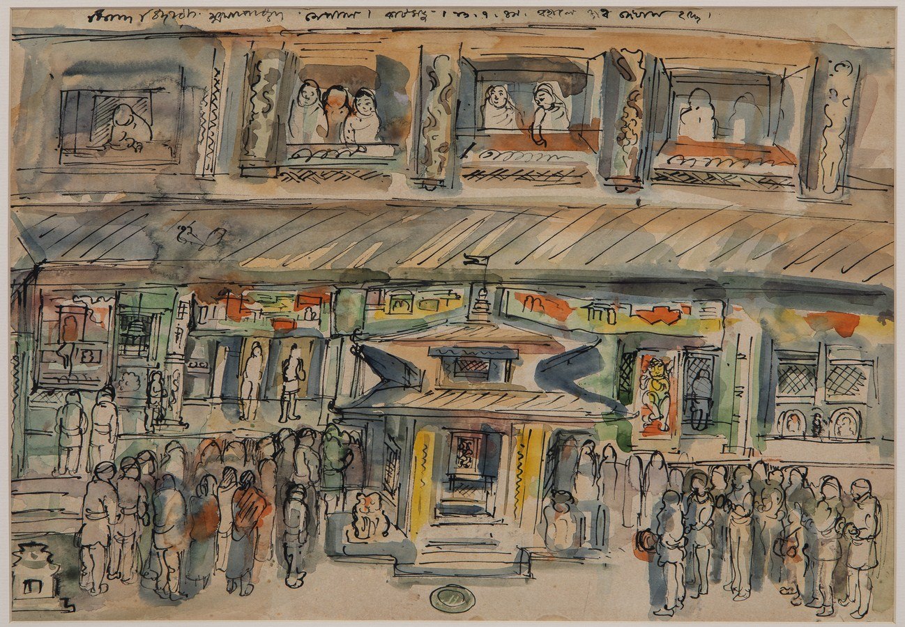 """Nepal – Exhibition of Reserve Art Collection in the Temple Bahab of Kathmandu 