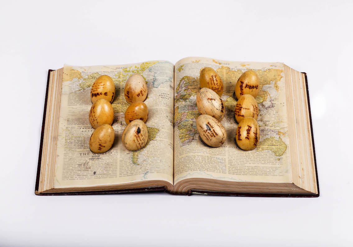 """Peace egg book 