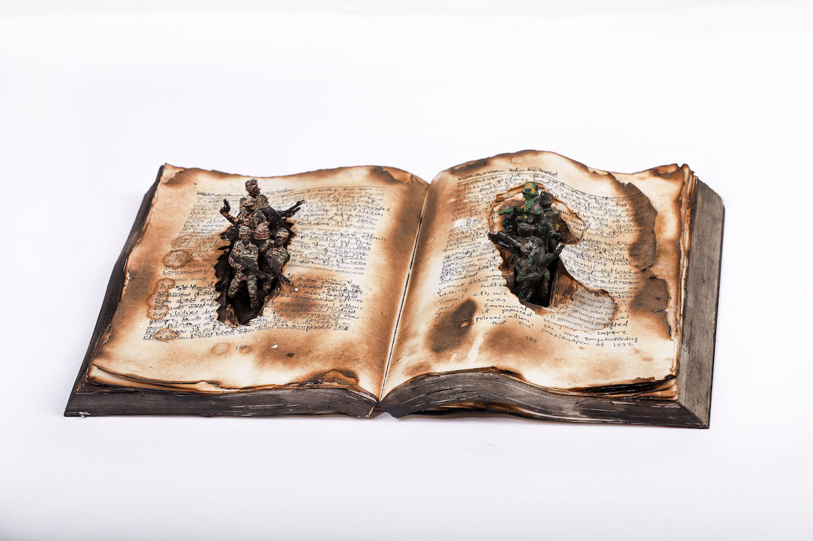 KINGSLEY GUNATILLAKE | The Wounded Book 23 August - 20 September, 2019