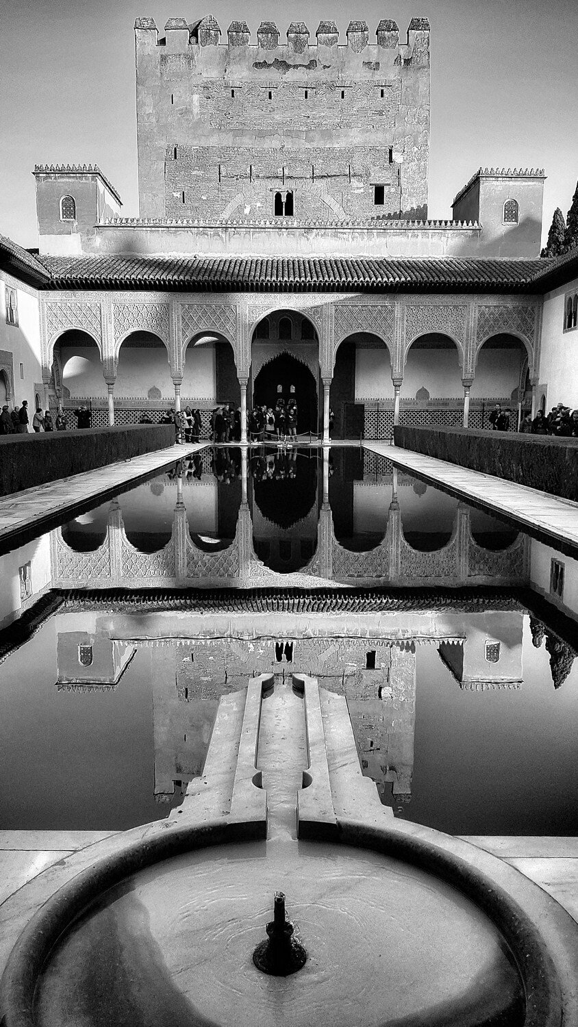 """The Court of the Myrtles, the Alhambra, Granada 