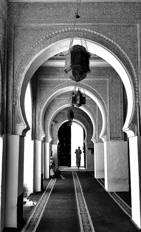 "The Siddi Boumediene Mosque | Archival pigment print | 24"" x 14.5"""