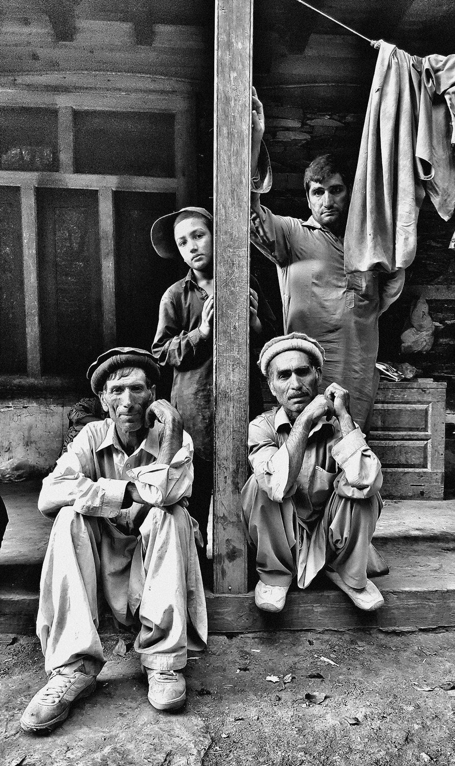 """At the headman's house, Chitral, Pakistan 