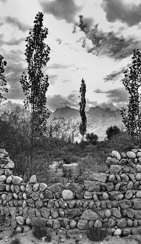 "Below Siachen, Gilgit, Pakistan | Archival pigment print | 20"" x 12"""