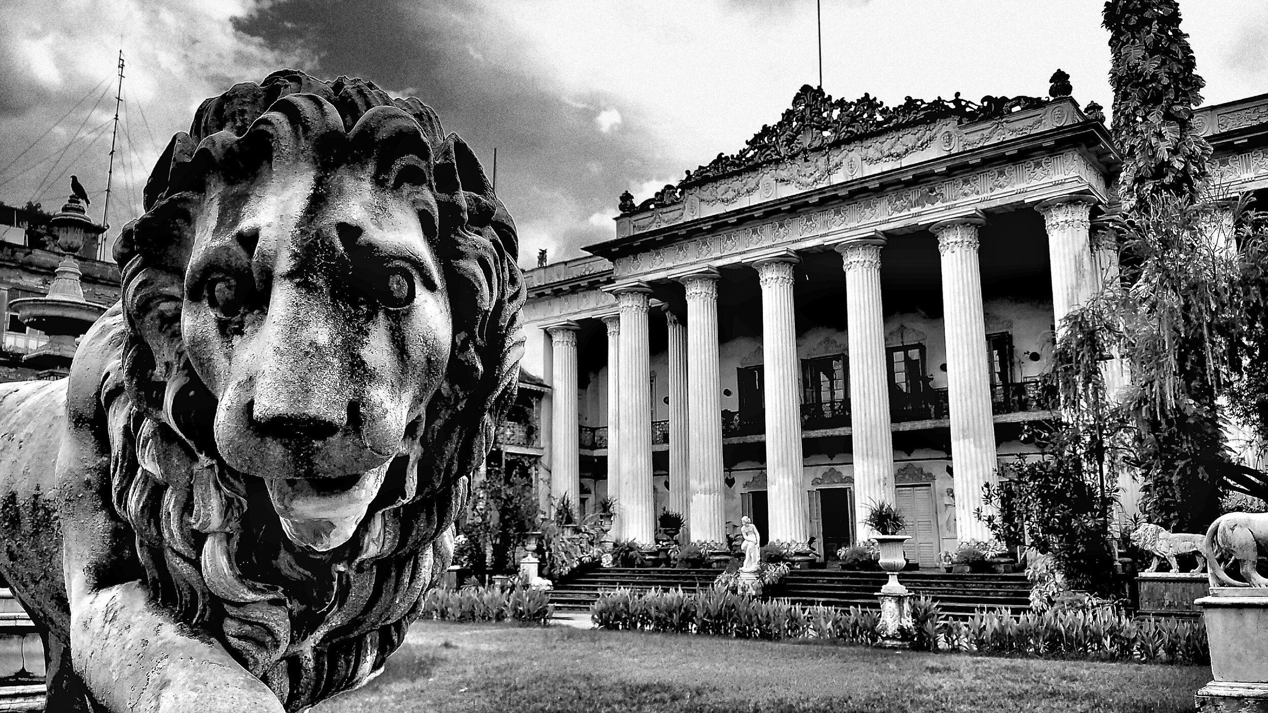 """At the Marble Palace, Calcutta 