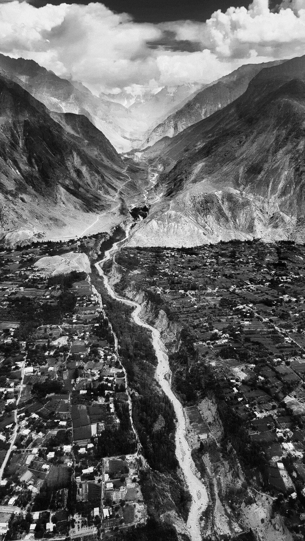 "Leaving Chitral, Pakistan | Archival pigment print | 20"" x 11"""