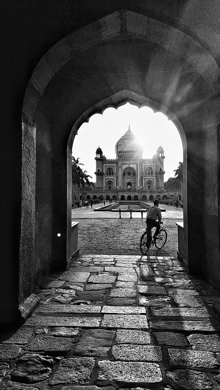 "Monsoon afternoon, Safdar Jung's Tomb, Delhi | Archival pigment print | 20"" x 11"""