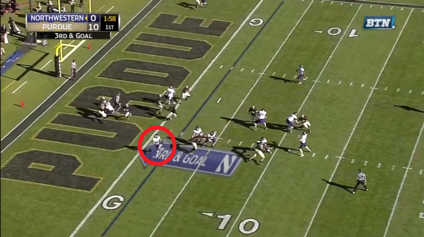 Could have been a miscommunication, someone could have been confused as to who covers Carr on the other side, no big deal, mistakes happen.
