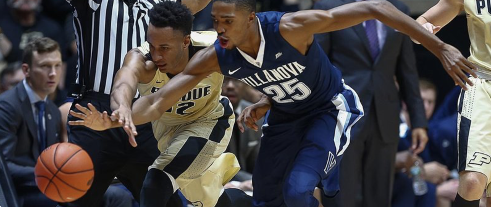 Edwards and the Boilers fought in front of a loud Mackey Arena earlier tonight; but came up short