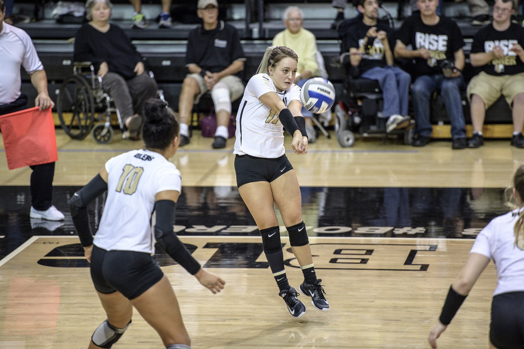 The Boilers spent a lot of time barely staving off Penn State runs.