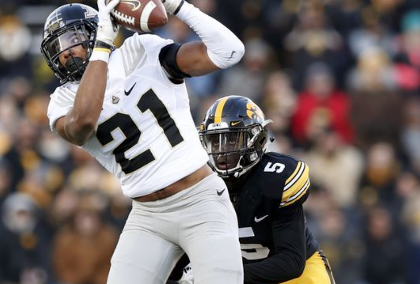 The sure-handed Frenchman played big v. Hawkeyes