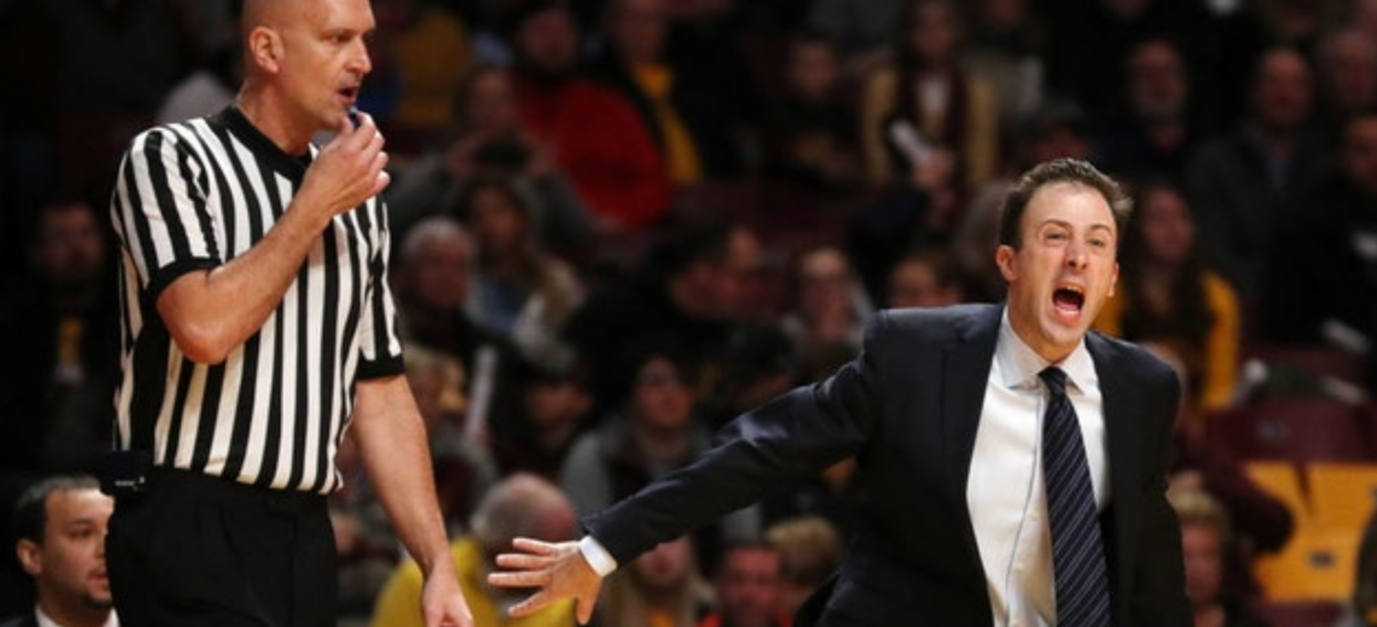 Whiny Pitino earns a 'T' (complaint was unwarranted)