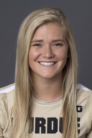 She's a redshirt freshman with no playing time ... sorry, no action photo.