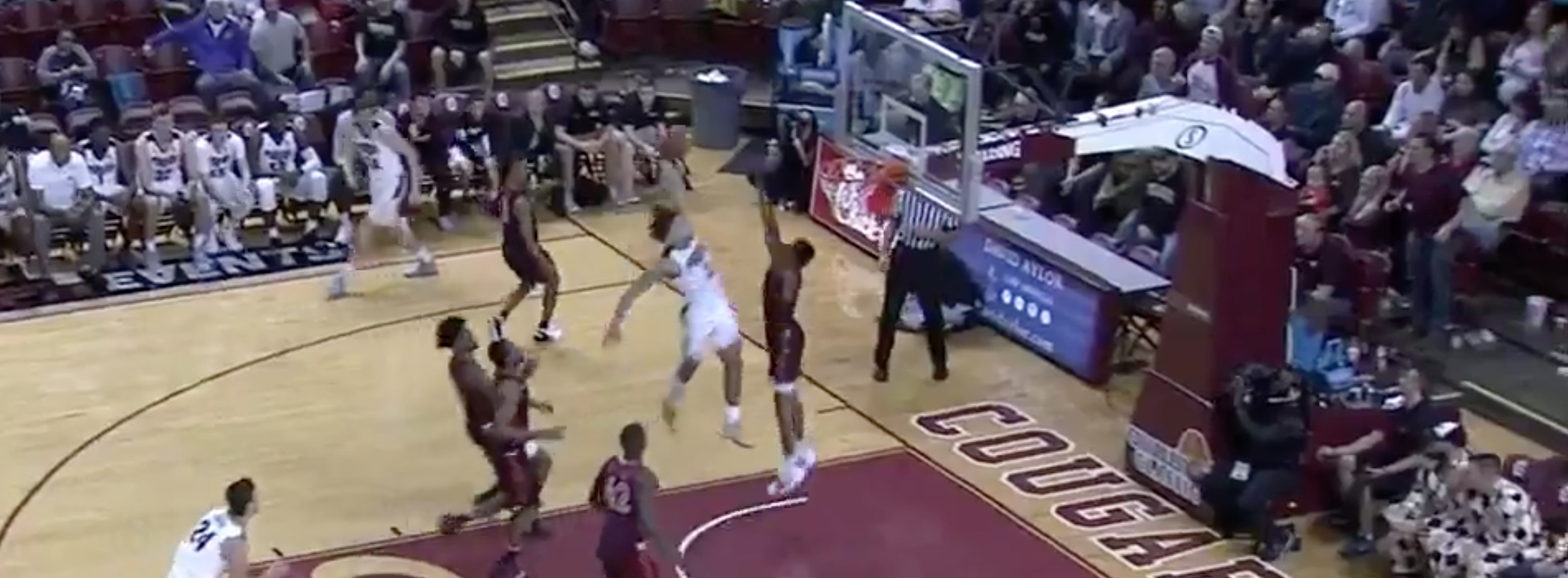Edwards does it again. This time over Va Tech's Alexander-Walker