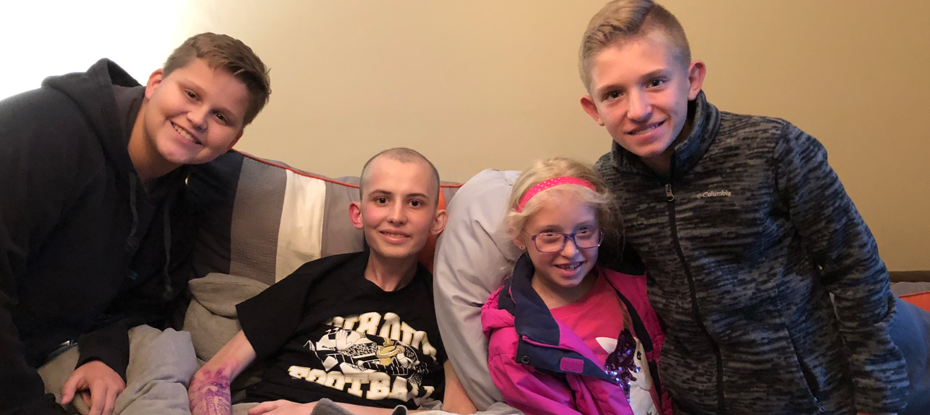 Ethan and Tyler welcomed the BDowd kids and tons of others into their home