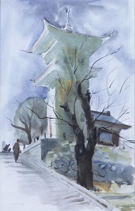 Yokohoma Shrine 1946