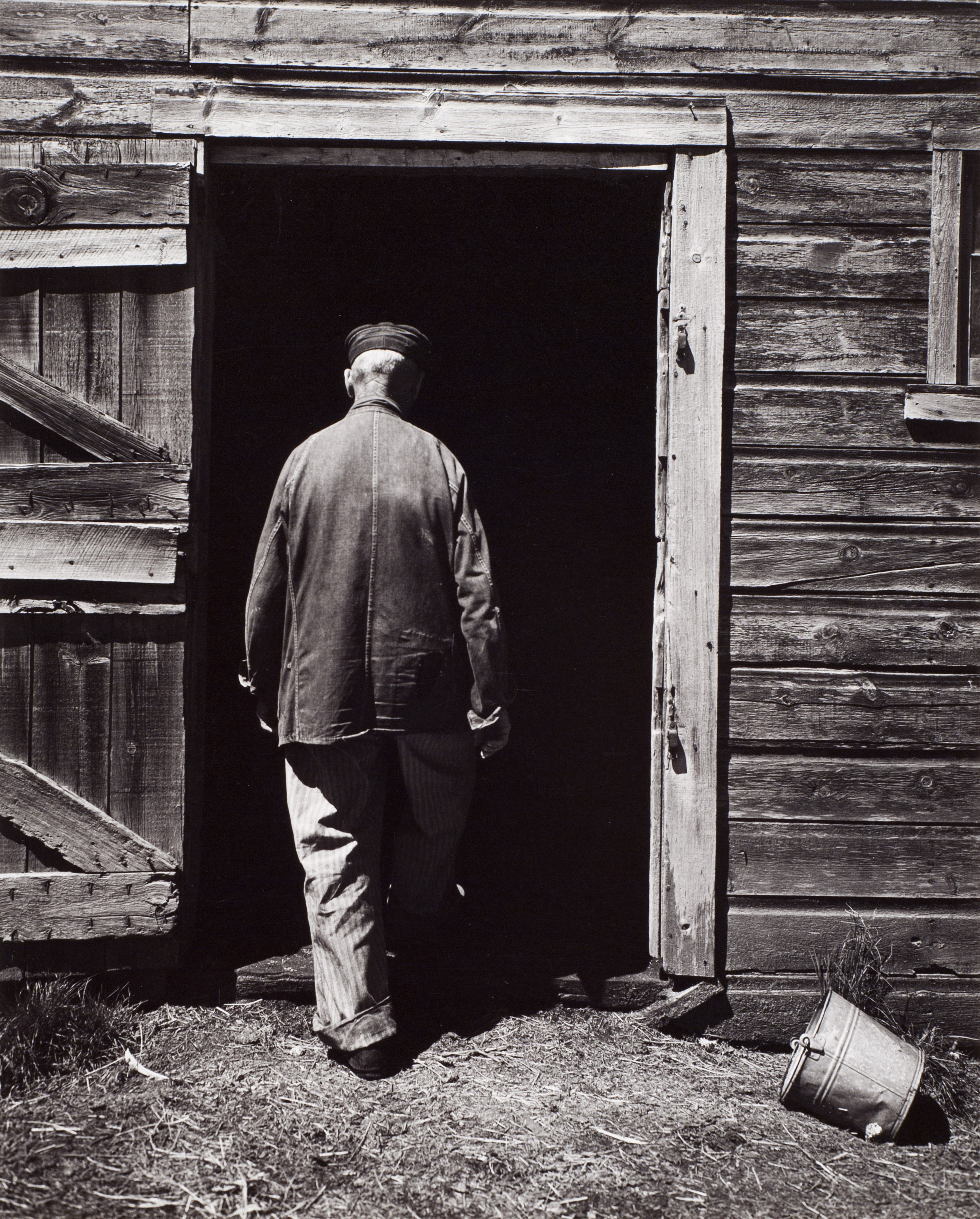 Wright Morris Uncle Harry Entering the Barn.jpg
