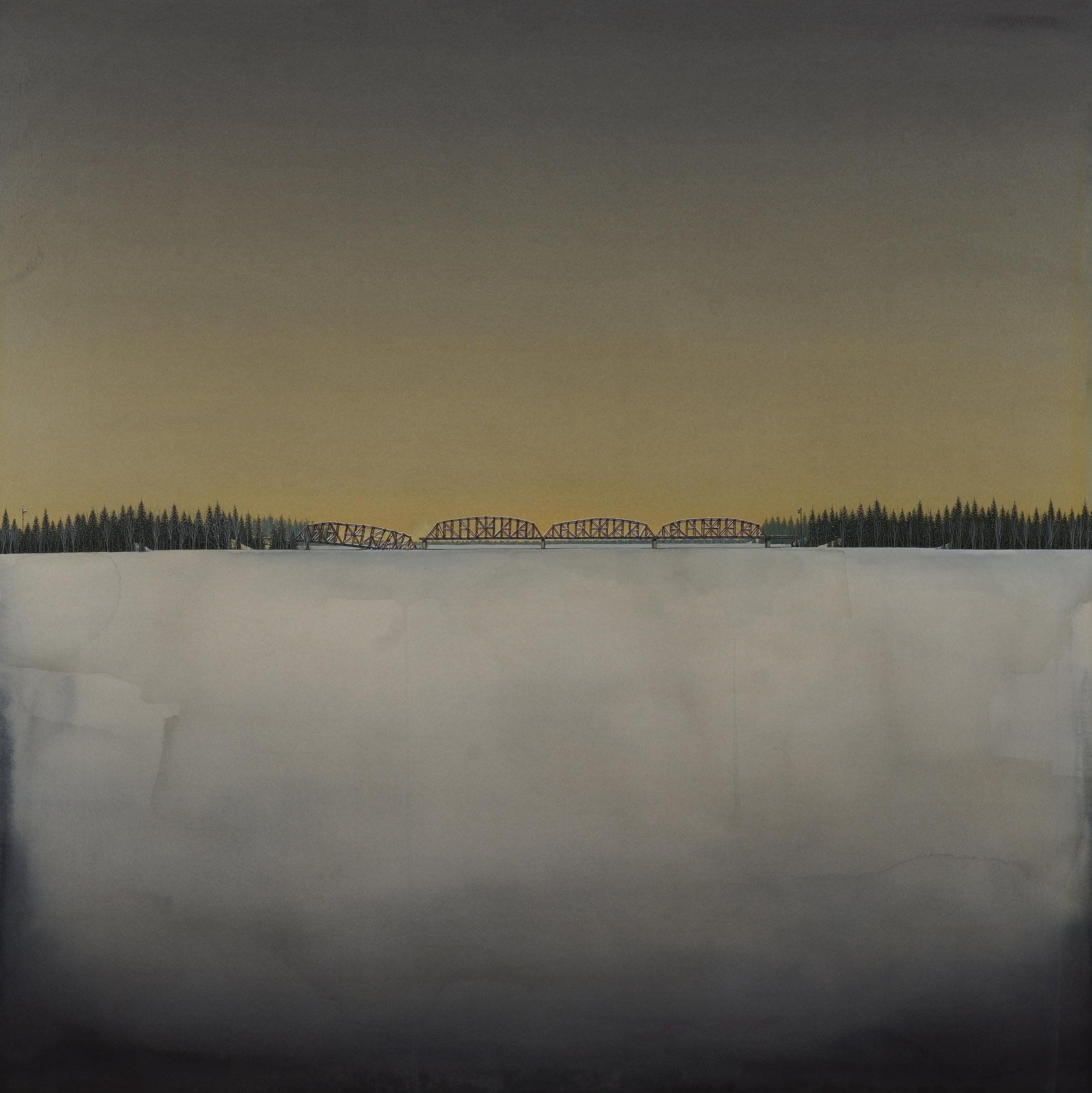 Daniel Bruggeman -  The Prairies Dreaming Sod , 2018  Minneapolis, MN   Winner - Best Painting