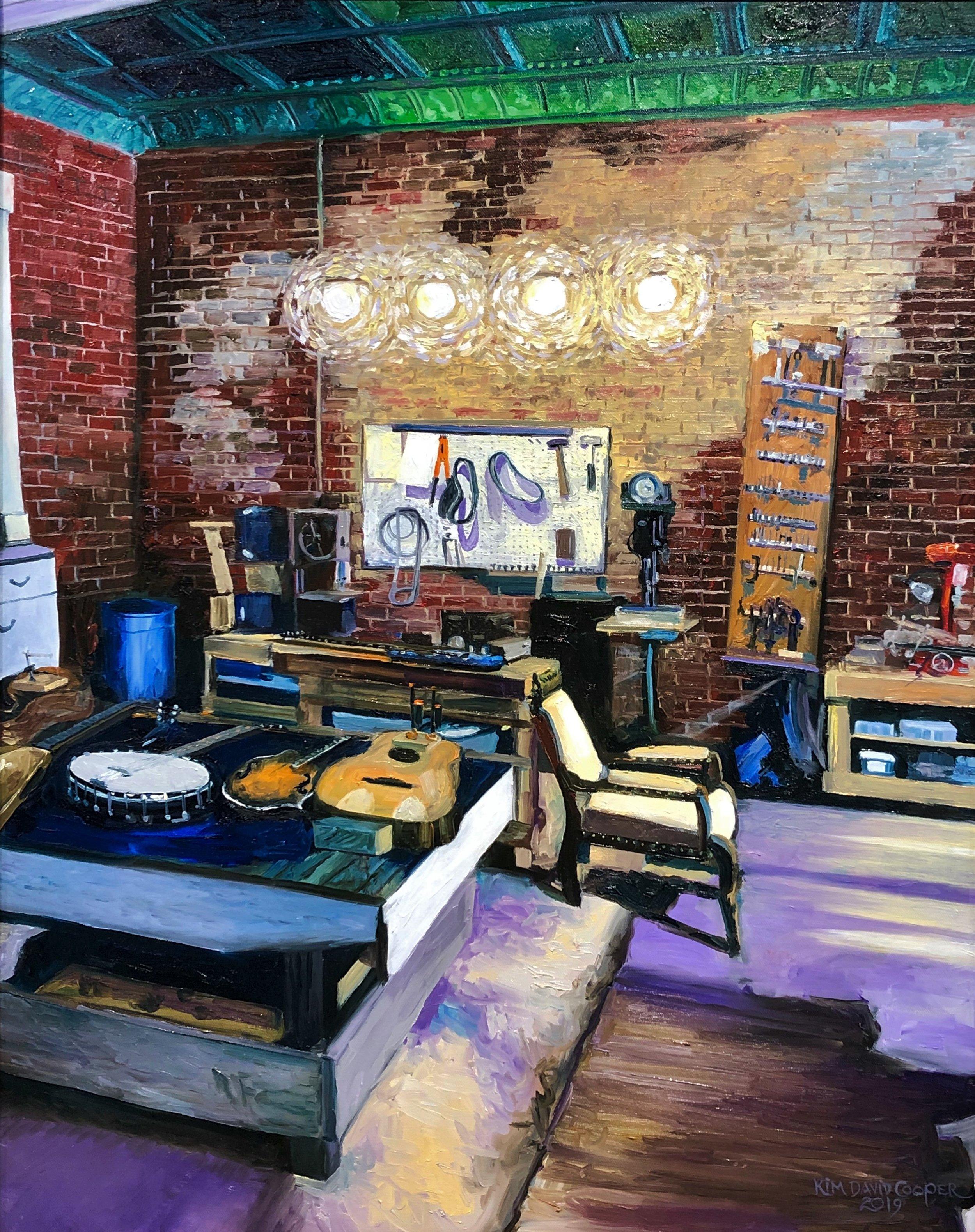 Kim David Cooper -  The Throne Room , 2019  Ashland, NE