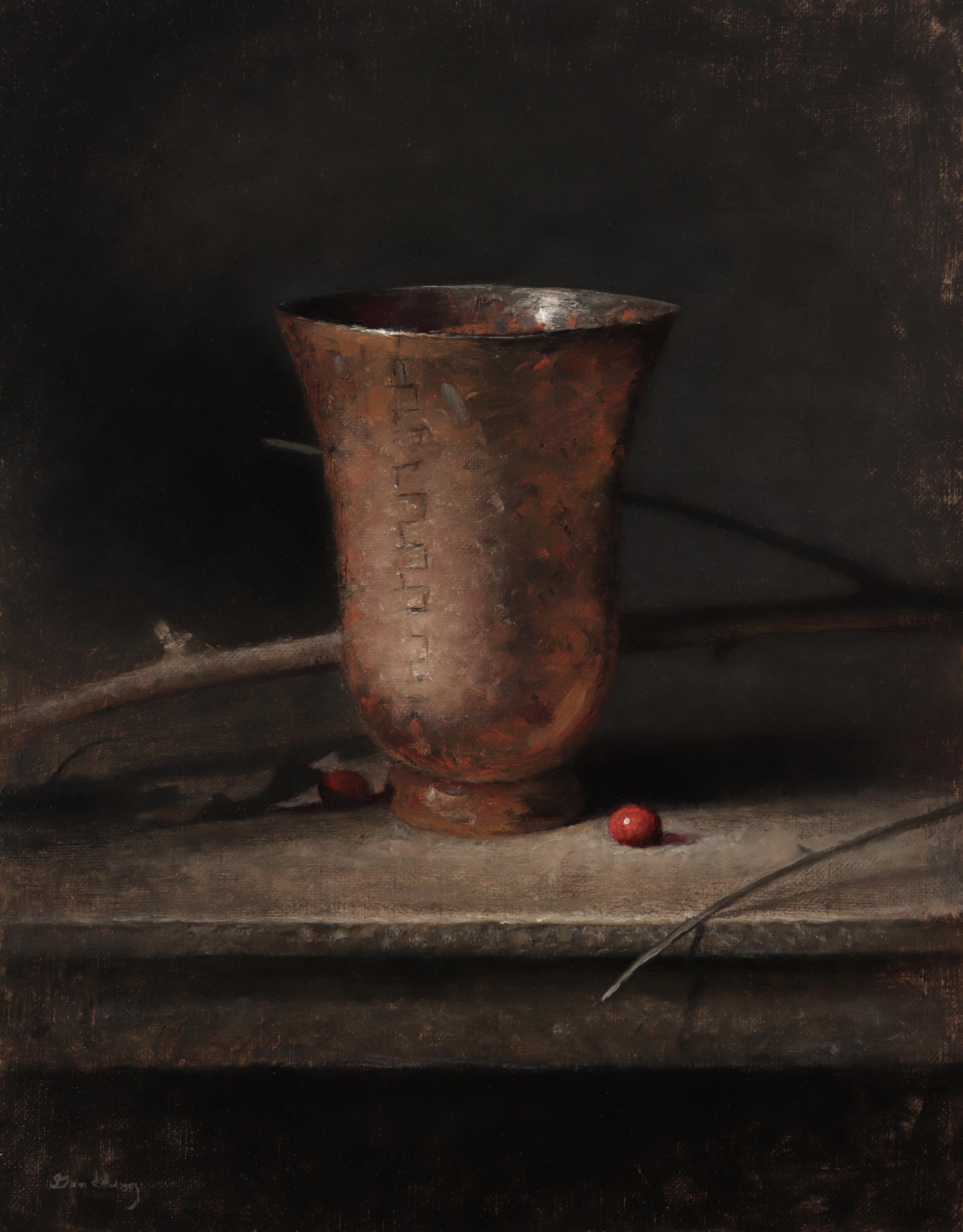 Jeremy Goodding -  Copper and Cranberries,  2018  Lincoln, NE