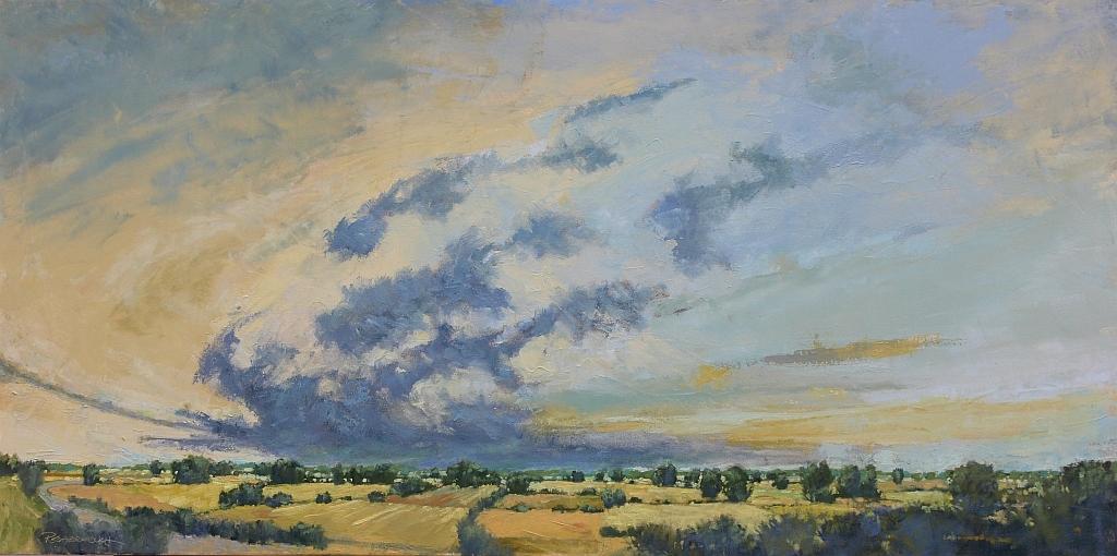Patricia Scarborough -  Big Sky Big Land,  2018  Geneva, NE