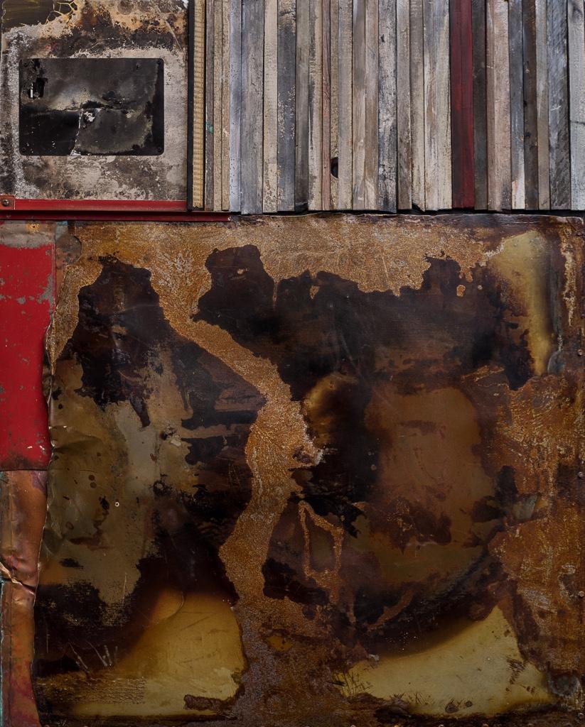 Richard Simonsen -  Corrosion Sequence , 2016  Minnetonka, MN