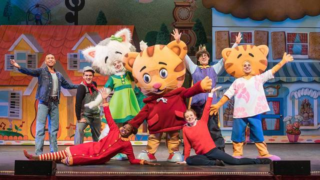 Daniel Tiger's Neighborhood LIVE: King for a Day - February 19th at 7pm, Ball Performance Hall