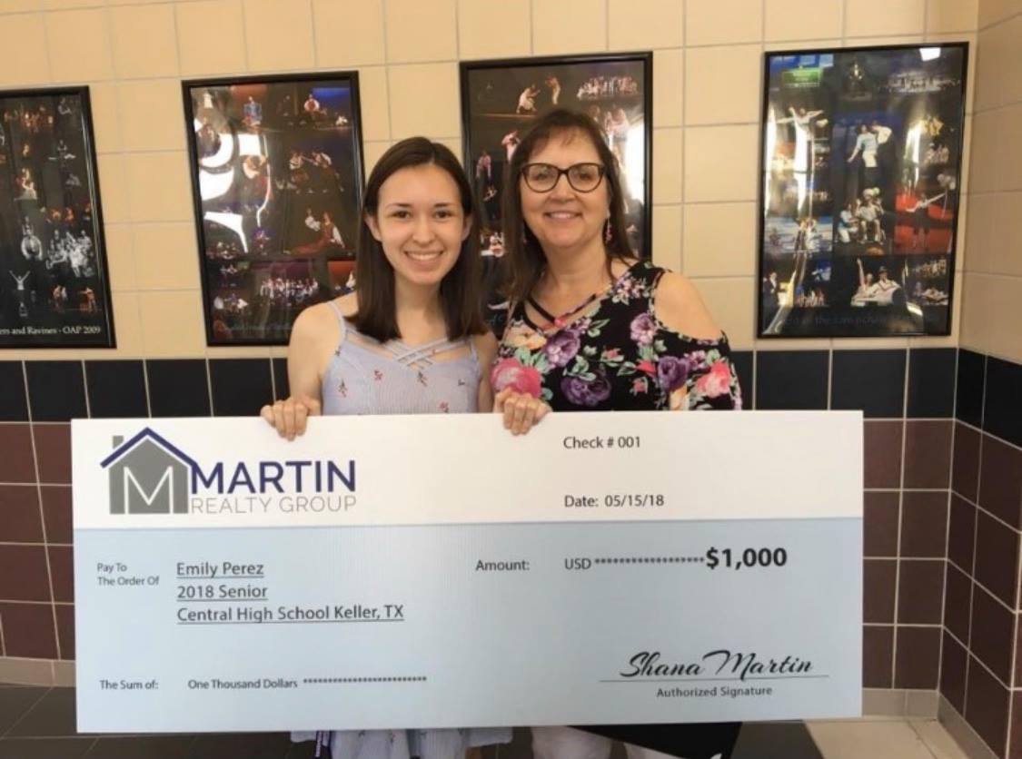 Emily Perez 2018 MRG Scholarship Winner!