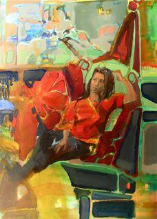 Shawni. 16x12 acrylic. November, 2008.