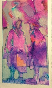 Connie's Mac Ladies by Lesley Humphrey
