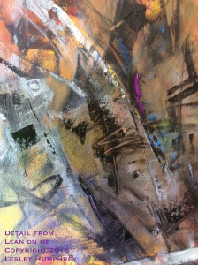 """(Detail from """"Pulling Through"""") by Lesley Humphrey 2015"""