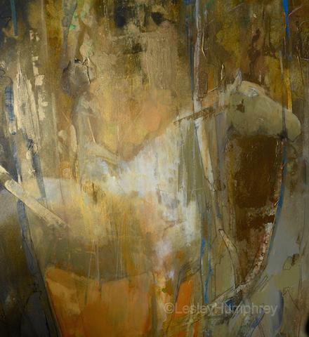 "SILENT PRAYER 30"" x 15"" - acrylic on hot-pressed watercolour board"
