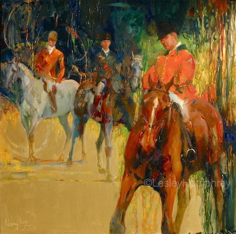 """TRINITY 32"""" x 32"""" - oil on canvas"""