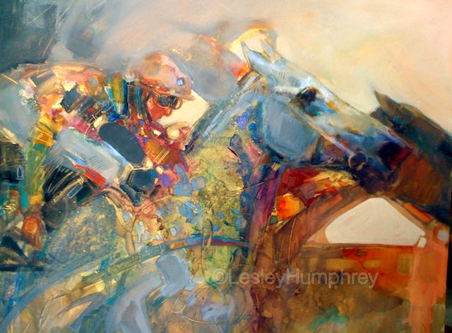 "UNBRIDLED SPIRIT-WATERCOLOUR 28"" x 20"" - watercolour/gouache on hot-pressed watercolour board"