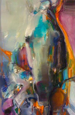 "SPIRIT OF OVERCOMING VI 22"" x 15"" - watercolour on paper"